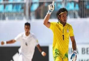 پیمان حسینی، سفیر منتخب فوتبال ساحلی دنیا
