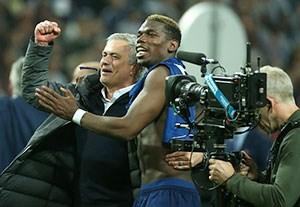 شادی یونایتدی ها پس از قهرمانی در لیگ اروپا