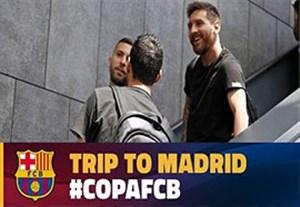 سفر بارسلونایی ها به مادرید برای تقابل با آلاوس
