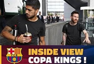 پشت صحنه قهرمانی بارسلونا در جام حذفی اسپانیا
