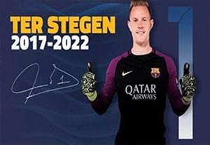 به مناسبت تمدید قرارداد تراشتگن با بارسلونا تا سال 2022