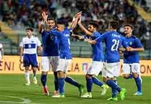 خلاصه بازی ایتالیا 8-0 سن مارینو