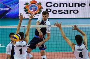 لیگ جهانی والیبال؛ ایتالیا در خانه مغلوب لهستان شد