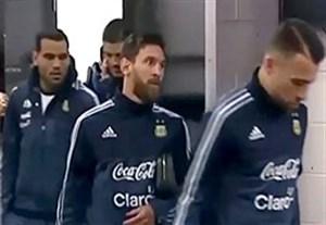 عدم مصاحبه بازیکنان آرژانتین بعد از پیروزی مقابل برزیل
