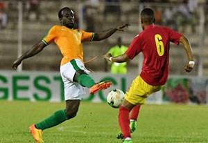 گلهای بازی ساحل عاج 2-3 گینه