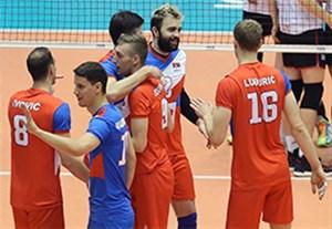 خلاصه والیبال صربستان 3-0 بلژیک