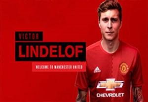 اولین روز حضور لیندلوف در منچستر یونایتد