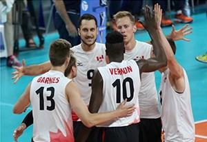 خلاصه والیبال کانادا 3-1 ایتالیا