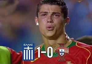فینال خاطره انگیز یونان 1-0 پرتغال (فینال یورو 2004)