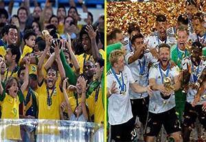 نگاهی به قهرمانان تمامی ادوار جام کنفدراسیون ها