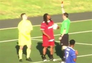 وقتی بازیکن راگبی، فوتبال بازی می کند!