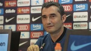 واکنش سرمربی بارسلونا به محرومیت 5 جلسه ای رونالدو