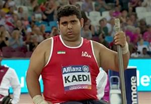 کسب مدال نقره کائیدی و برنز جوانمردی در پرتاب وزنه معلولین جهان