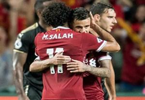 خلاصه بازی لسترسیتی 1-2 لیورپول