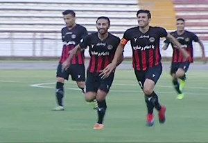 اولین گل لیگ برتر خلیج فارس فصل 97-96