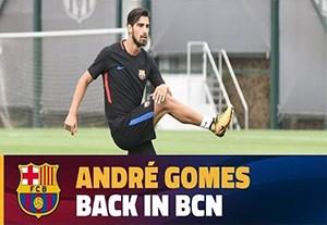 بازگشت تراشتگن و آندره گومس به تمرینات بارسلونا