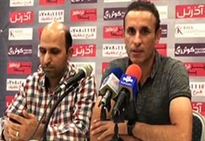 کنفرانس خبری گل محمدی قبل از بازی با پرسپولیس