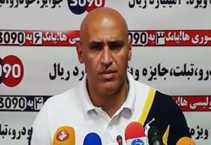 کنفرانس خبری منصوریان پیش از بازی با استقلال خوزستان