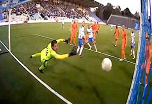 گل بازی نورکوپینگ 1-0 اسکیلستونا (دروازه بانی حقیقی)