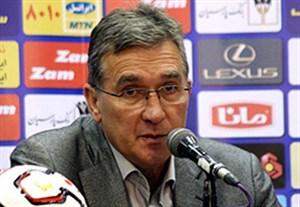 کنفرانس خبری برانکو قبل از بازی با نفت تهران