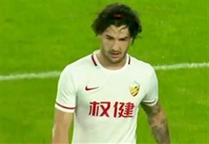 گلزنی پاتو در بازی مقابل بیجینگ گوان