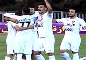 خلاصه بازی نفت تهران 0-3 پرسپولیس