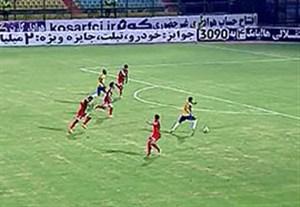 خلاصه بازی صنعت نفت آبادان 2-0 پدیده مشهد