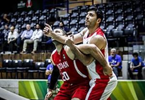 خلاصه بسکتبال ایران 83-71 اردن