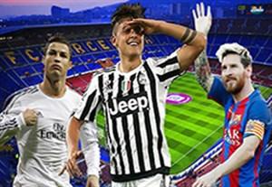 برترین بازیکنان لیگ قهرمانان اروپا به انتخاب یوفا