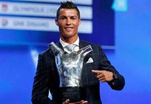 حضور رونالدو در بین 3 نامزد نهایی بهترین بازیکن اروپا