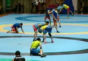 تمرینات سخت آزادکاران ایران برای رقابتهای جهانی