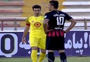 خلاصه بازی سیاه جامگان 1-1 نفت تهران