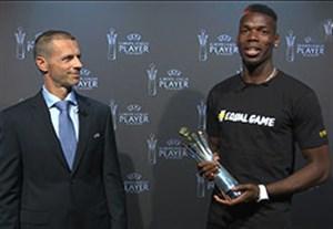 پوگبا برترین بازیکن لیگ اروپا در فصل 2017