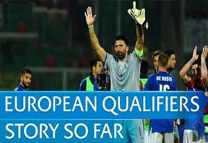 لحظات به یاد ماندنی یورو