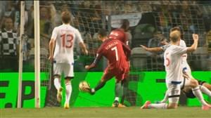 خلاصه بازی پرتغال 5-1 جزایرفارو(هتریک رونالدو)
