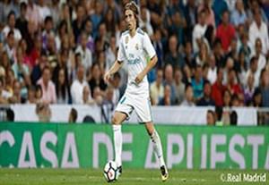 لوکا مودریچ؛ بازیکنی با بیشترین دریافت توپ بین بازیکنان رئال