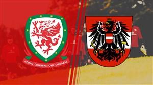 خلاصه بازی ولز 1-0 اتریش
