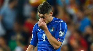 دلیل عجیب مهاجم ایتالیا برای ناآمادگی
