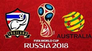 خلاصه بازی استرالیا 2-1 تایلند