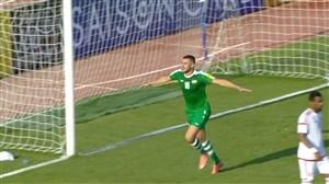 خلاصه بازی عراق 1-0 امارات