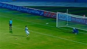 خلاصه بازی پارس جنوبی جم 0  - 0 نساجی مازندران (پنالتی 3 - 4 )