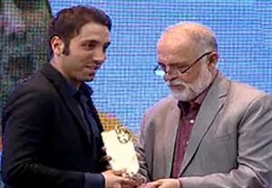 محمد طاهری بهترین بازیکن اخلاق لیگ برتر فوتسال