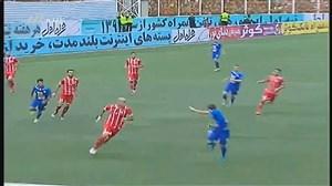 گل اول استقلال به سپیدرود رشت (انصاری)