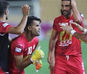 نفت 1- اس.خوزستان 0: سومین برد با گلزنی آلکثیر