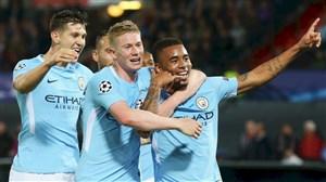 گلهای منچسترسیتی در لیگ قهرمانان اروپا 2019/20