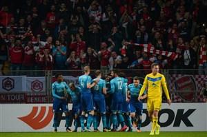 پیروزی پرگل آرسنال مقابل باته در لیگ اروپا