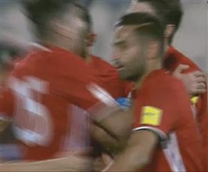 گل دوم ایران درمقابل توگو (کریم انصاریفرد)