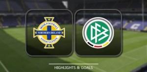 خلاصه بازی ایرلند شمالی 1 - آلمان 3