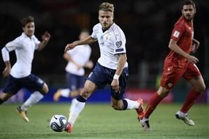 ایتالیا 1-1 مقدونیه؛ توقف بی موقع آتزوری
