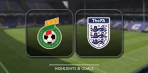 خلاصه بازی لیتوانی 0 - انگلیس 1